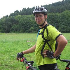Michael mit neuem Bike