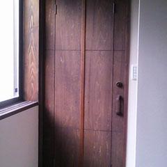ドアに・・・