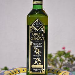 Huile d'olive vierge extra biologique.