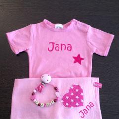 "Geschenkset Deluxe Body rosa Beispiel ""Jana"" Fr. 35.--"