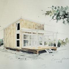 Mappenkurs Architektur, Architektur zeichnen, Architekturstudium in Düsseldorf, Mappenkurs Düsseldorf