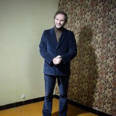 Ludovic Füschtelkeit lors d'un tournage - (photo : Simon Bonne)
