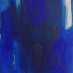 """Serie """"Heimnachtfahrt"""" IV., 100 x 70 cm, 2019"""