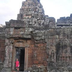 Die Tempelruine Ta Prohm.