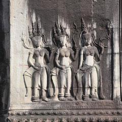 Apsara-Tänzerinnen.