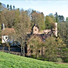 Burg Steinegg - hier residierten die Freiherren von Gemmingen