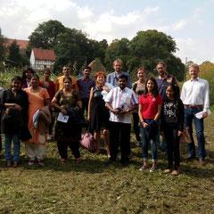 Field trip mit indischer Delegation