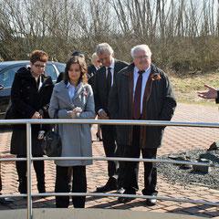 Exkursion mit bulgarischer Delegation