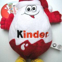 Kinder Überraschung - Plüscheiermann - Vorderseite