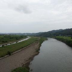 河川敷をチョイス