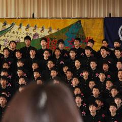 卒業の歌 男子
