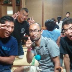 1位鈴鹿さん、2位かぼす師匠、5位山先さんと超豪華メンバーで飲みました!