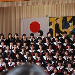 卒業の歌 女子