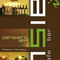 Pensiero Italiano - Geschäftsausstattung (Logo/Anzeigen/Druck/Web/Werbetechnik)
