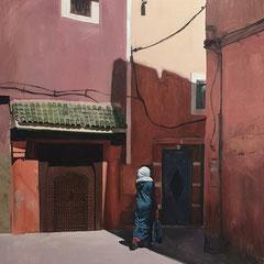 Sans titre 164 x 130 cm 2020 Huile sur toile collection privée