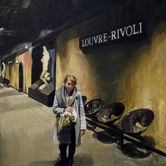 Rivoli 2019 Huile sur toile 162x130  collection privée