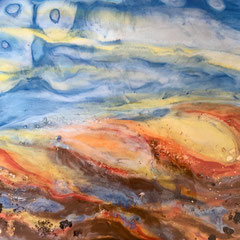 """""""THE EDGE OF DREAMING II""""  (16x20 on finished 1.5"""" deep cradle wood panel)  SOLD"""