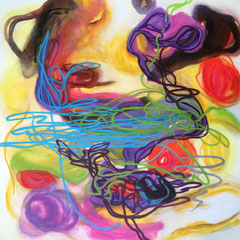 """GROOVY GROOVE""  36X36   Exclusively at Wertheim Contemporary (808) 573-5972"