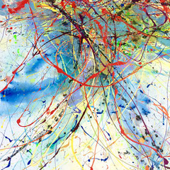 """THE LIGHTNING PATH II""  (alternate view)  40X30   SOLD"