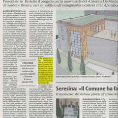 GIORNALE DI BRESCIA DEL 19/03/2014