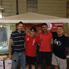 ... prime visite... coach Fabio Zimbaldi, Luca Airoldi, Stefano Pezzana e Filippo Della Valle...