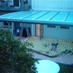 Terrassendach mit VSG Sonnenschutzverglasung, Wartungsfrei