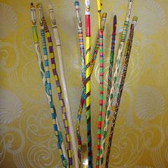 Wanderstab Haselnuss 38 euro, walking stick, Kunsthandwerk im Gudwork