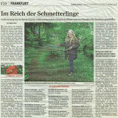Im Reich der Schmetterlinge, Frankurter Rundschau