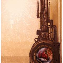 """""""Verwechslung"""" - Honsar - Acryl-Mischtechnik auf Leinwand - 60 x 80 cm - 2009 – verkauft / SOLD"""