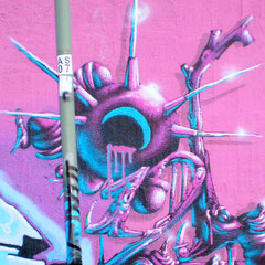 Honsar - Detail - Graffiti Jam - Offenbach