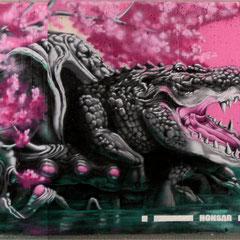 Honsar - Detail - Graffiti Jam - Kaiserlei  Offenbach