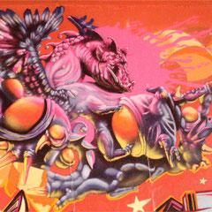 Honsar - Meetings of Style - Graffiti and Streetart Jam - Mainz-Kastell