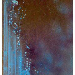 """""""Blasen - Hypothek"""" - Honsar - Acryl-Mischtechnik auf Leinwand - 40 x 80 cm - 2009 – verkauft / SOLD"""