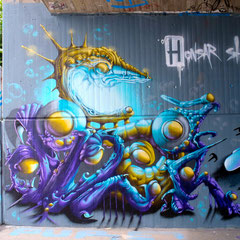 Honsar -LaGrandeSchmierage- Graffiti- Ingolstadt