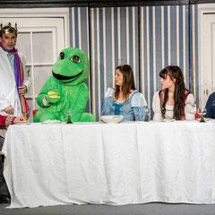 Der Froschkönig, PIPAPO Theater Bensheim, Foto: Dr. Ludwig Kreitner