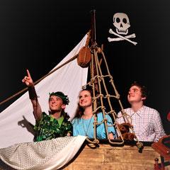 Peter Pan und die verlorenen Kinder, Studio Bühne Essen, Foto: Stefan Dolge