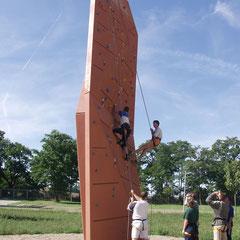 Seilkletterabkag 10 m hoch