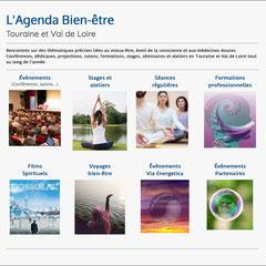 Via Energetica- conférences bien-être, stage développement personnel,  formations professionnels médecine complémentaire - plate-forme avec plus de 400 pages