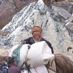 Sherpa vrouw