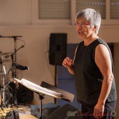 Nathalie Aubin, cheffe de cœur, Les Choraleurs chantent Carmen in Swing, Fargues-Saint-Hilaire