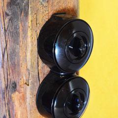 Detail:  Dreh - Lichtschalter