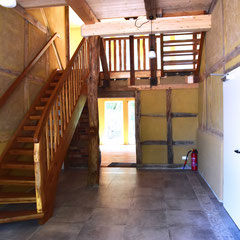 Eingangsbereich, Flur im Erdgeschoss mit Treppenaufgang