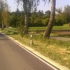 Geschwindigkeitsbegrenzung ca. 120 m vor dem Ortsschild Risstissen