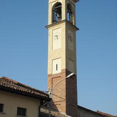 Albuzzano (PV) - Campanile della Chiesa dell'Assunzione di M. Vergine