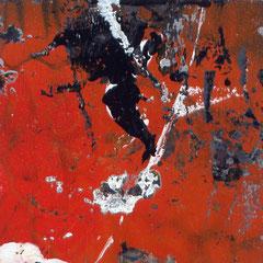 Graffity, Monotypie, rot, Künstler, abstrakt, Engels, art
