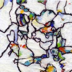Schmuck, Malerei, weiß, white, abstrakt, Künstlerin, Kunst,