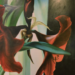 Anette Koch, o.T. (19.5.3) 2003, Öl auf Nessel, 190 x 140 cm, ABC Westside Galerie