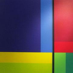 Rezsö Somfai, Harmonia caelestis, Himoko IV, 2012, Acryl auf Leinen, 140 x 140 cm