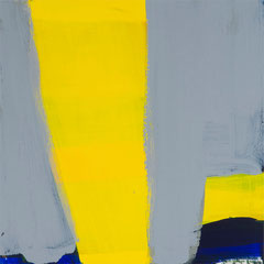 Lageplan Gelb Grau 2, Elvira Lantenhammer, ABC Westside Galerie