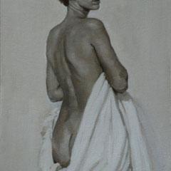 Nicolas Curmer, Alice, 61 x 38, Öl auf Leinwand, ABC Westside Galerie